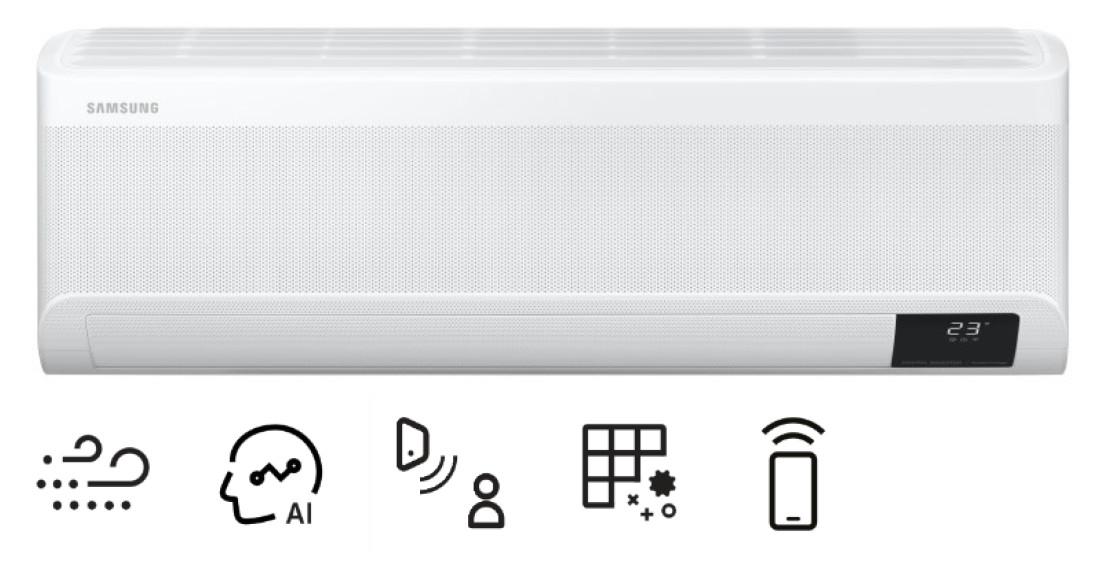 Vnútorná nástenná jednotka - Samsung Wind-Free Elite